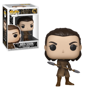 Funko Pop Vinyl Figurine Arya Stark with Two-Headed Spear #79 - Game of Thrones