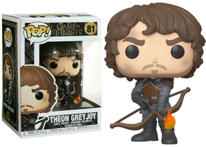 Funko Pop Vinyl Figurine Theon Greyjoy Flaming Arrows - Game of Thrones
