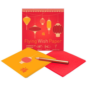 GOOD FORTUNE Mini Flying Wish Paper Kit