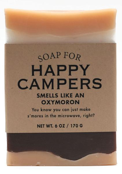 Soap for Happy Campers ~ Smells Like an Oxymoron