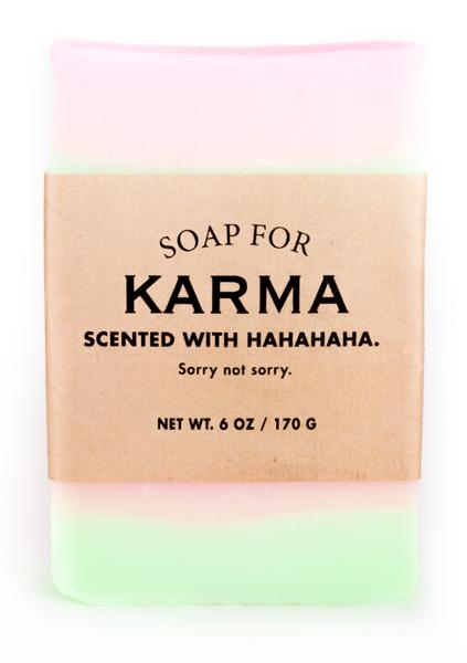 Soap for Karma ~ Scented with HAHAHAHA