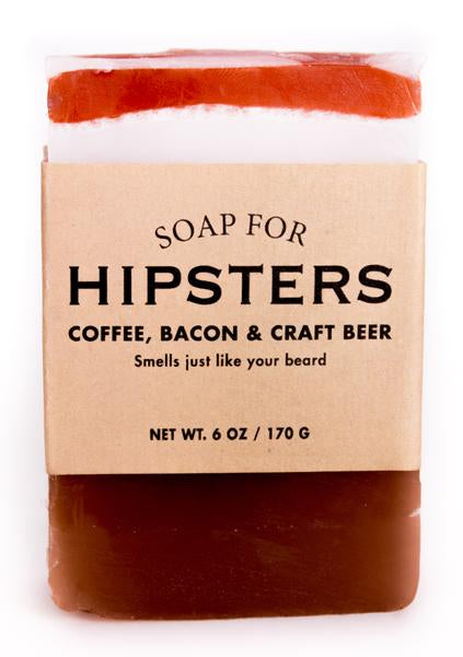 Soap for Hipsters ~ Coffee, Bacon, & Craft Beer
