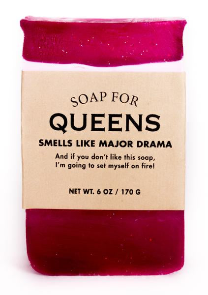 Soap for Queens ~ Smells Like Major Drama