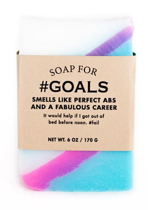 Soap for #GOALS ~ Smells Like Perfect Abs and a Fabulous Career