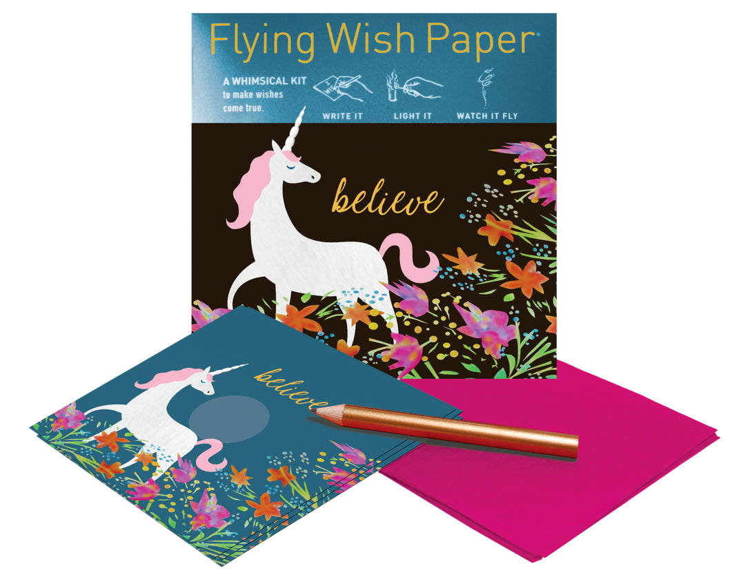 UNICORN Mini Flying Wish Paper Kit