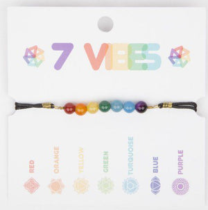 7 Vibes (Seven Energies) Bracelet Handcrafted in Colombia