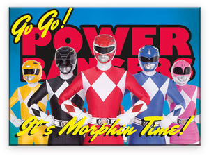 Power Rangers It's Morphin Time Magnet