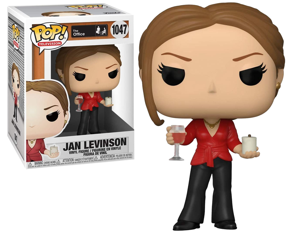 Funko Pop Vinyl Figurine Jan Levinson w/Wine Glass & Candle  #1047 - The Office