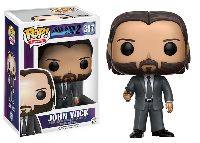 Funko Pop Vinyl Figurine John Wick Chapter 2 #387