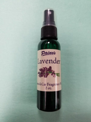 Lavender Home & Car Mist Fragrance Spray