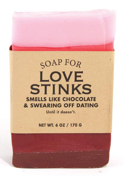 Soap for Love Stinks ~ Smells Like Chocolate & Swearing Off Dating