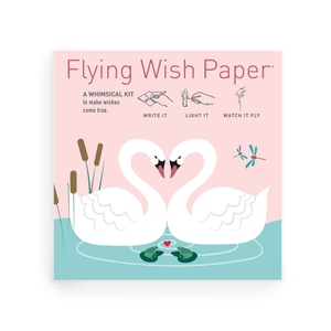 SWAN LAKE Love Mini Flying Wish Paper Kit