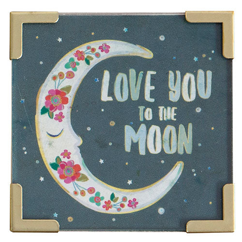 """Love You to the Moon"" Magnet"