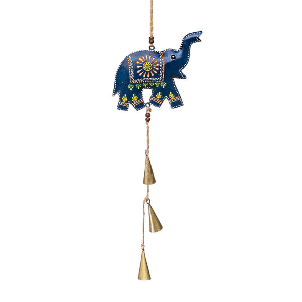 Henna Treasure Elephant Bell Chime