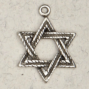 The Star of David ~ Pewter Necklace ~ Mitzvah, The Hebrew Collection