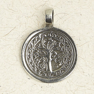 The Tree of Life ~ Pewter Necklace ~ Mitzvah, The Hebrew Collection