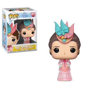 Funko Pop Vinyl Figurine Mary Poppins Returns Mary Poppins Pink Dress