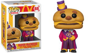 Funko Pop Vinyl Figurine Office Mayor McCheese #88 - McDonald's