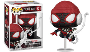 Funko Pop Vinyl Figurine Miles Morales Winter Suit #771 - Spider-Man