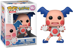 Funko Pop Vinyl Figurine Mr. Mime #582 - Pokemon Season 2