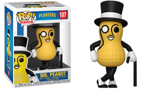 Funko Pop Vinyl Figurine Planters Mr. Peanut #107 - Ad Icon