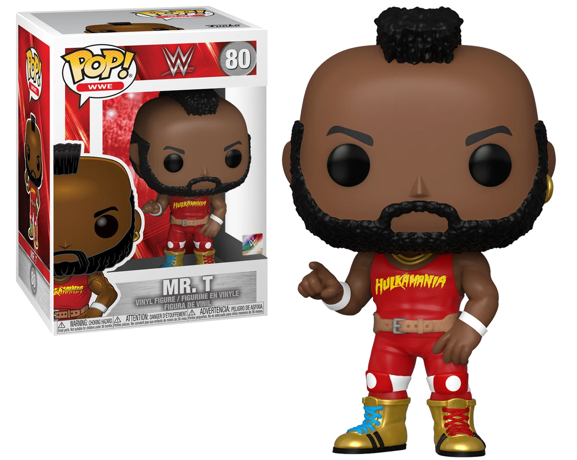Funko Pop Vinyl Figurine Mr. T Hulkamania #80 - WWE