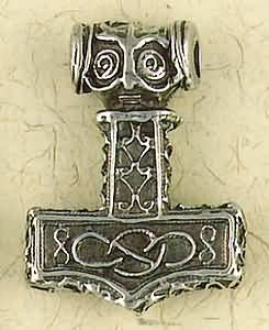 Thor's Hammer ~ Pewter Necklace ~ Odin, The Norse Collection