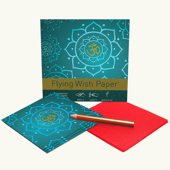 Golden OM Mini Flying Wish Paper Kit