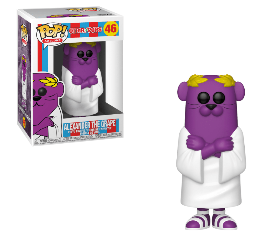 Funko Pop Vinyl Figurine Alexander the Grape Otter Pops