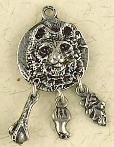 Bear ~ Pewter Necklace ~ Animal Spirits & Totems Collection