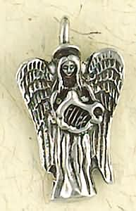 Angel Of Harmony ~ Pewter Necklace ~ Angels Collection