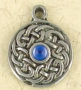 Dohmanh, the Cosmos ~ Pewter Necklace ~ Trionaid, Mystical Celtic Knots Collection