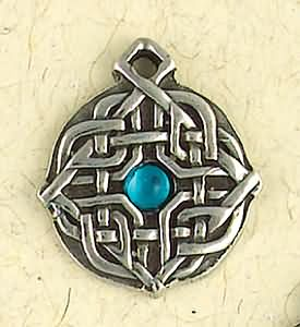 Raiee, The Seasons ~ Pewter Necklace ~ Trionaid, Mystical Celtic Knots Collection