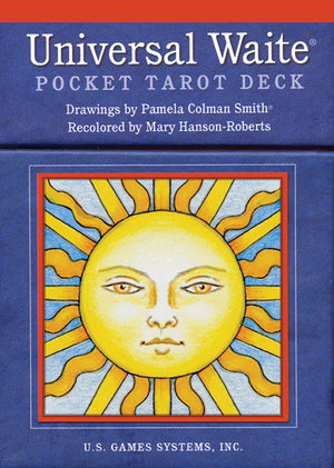 Universal Waite® Pocket Tarot Deck