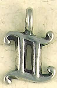 Gemini ~ Pewter Necklace ~ Zodiac Talismans Collection, Astrology