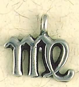 Virgo ~ Pewter Necklace ~ Zodiac Talismans Collection, Astrology