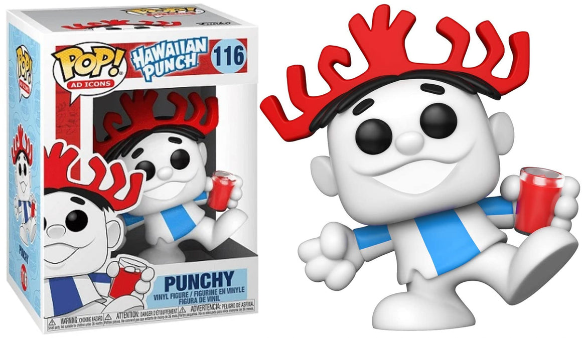 Funko Pop Vinyl Figurine Punchy Hawaiian Punch #116 - Ad Icon