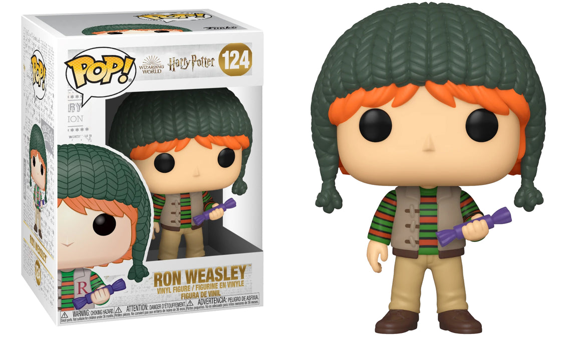 Funko Pop Vinyl Holiday Ron Weasley #124 - Harry Potter