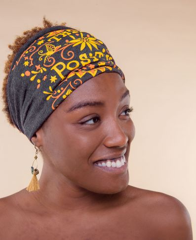 Think Positive Boho Headband