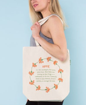Hippie Definition Eco Tote Bag