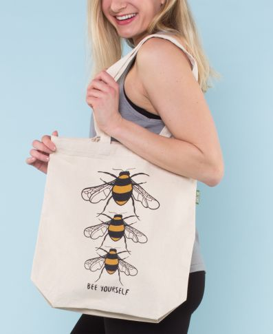 Bee Yourself Eco Tote Bag