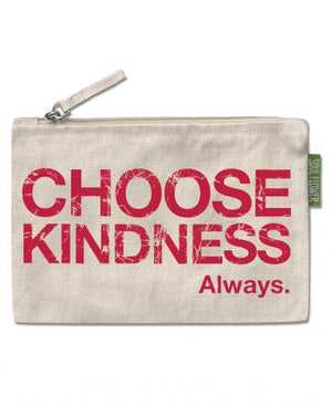 Choose Kindness Large Zipper Pouch
