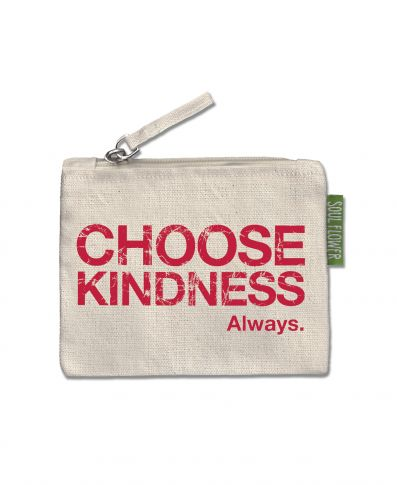 Choose Kindness Small Zipper Pouch