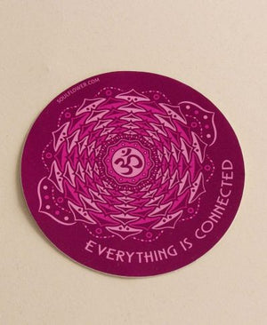 Everything is Connected Chakra Sticker