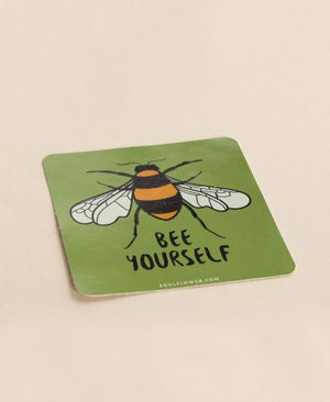 Bee Yourself Sticker