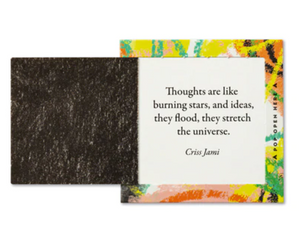 TRUST YOUR CRAZY IDEAS Pop-Open Thoughtfulls® Cards