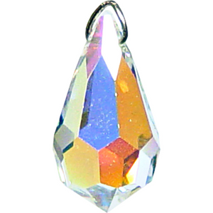 Faceted Drop Crystal Prism (20 mm)