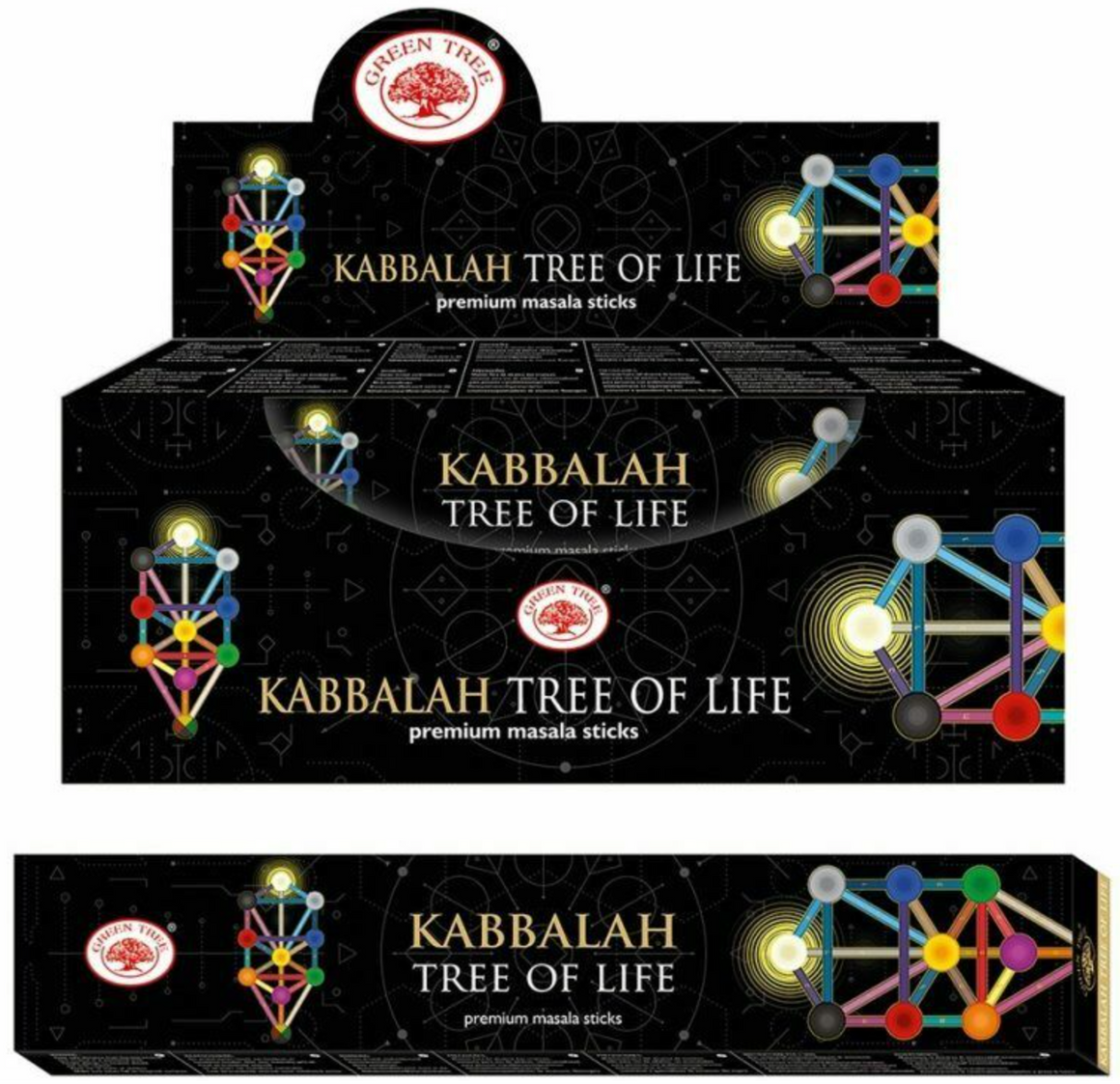 Green Tree Incense 15 gr - Kabbalah Tree of Life
