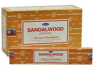 Satya Sandalwood 15gms Incense Sticks