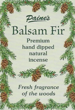 20 Balsam Fir Scented Long Stick Incense